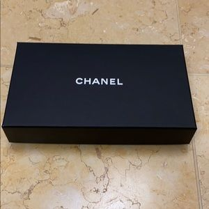 Chanel box for long wallet